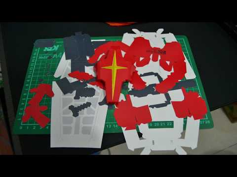 Gundam Rx-78 (2) Papercraft Ver. Juanco Aran