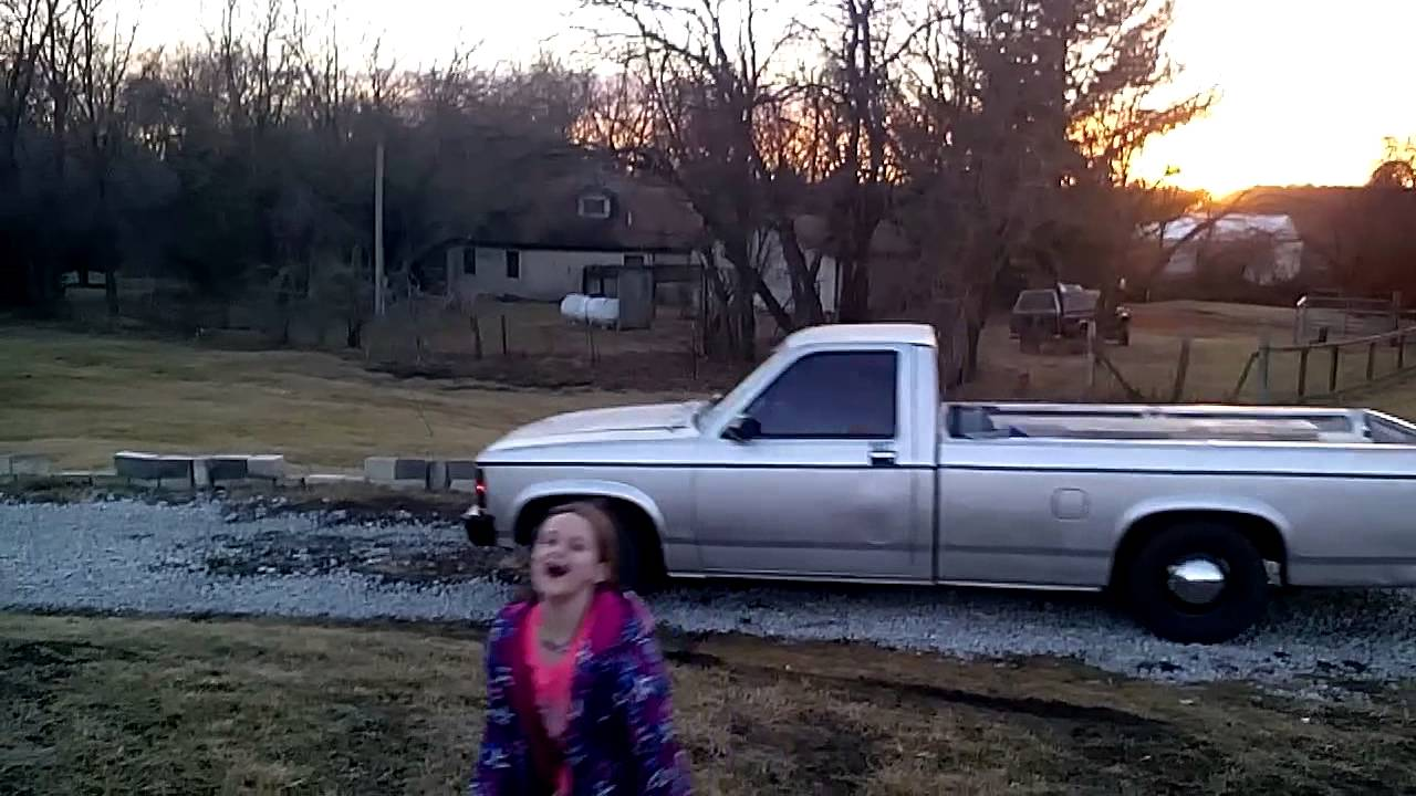 Lowered 1989 Dodge Dakota Youtube