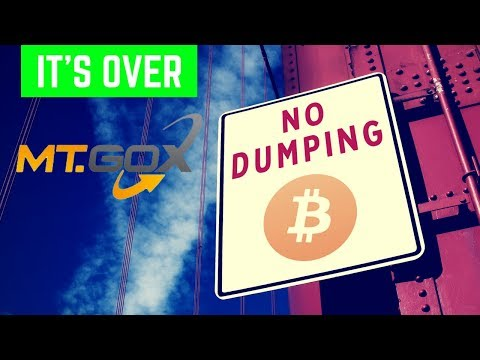 No More Dumping Bitcoin from MT. GOX? - Today