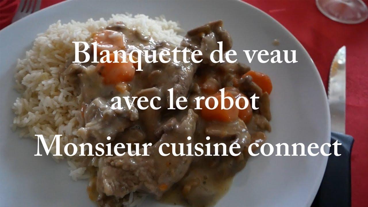 Recette Blanquette de Veau au Monsieur Cuisine Connect ...