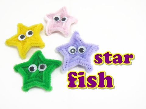 Pipe Cleaner Craft - Starfish