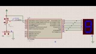 Potentiometer displaying level - 7 segment display using PIC microcontroller