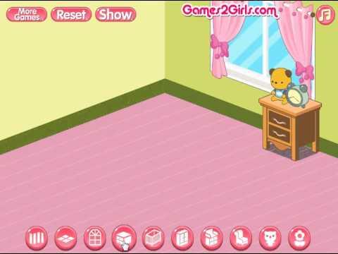 Twin Babies Room Design (Переделки: Комната для новорожденных близнецов) - прохождение игры