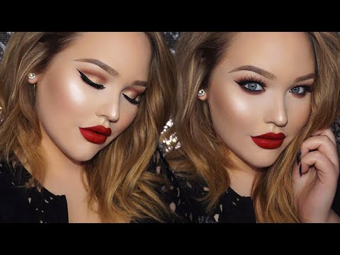 ADELE Classic Glam 2016 BRIT Awards Inspired Makeup Tutorial