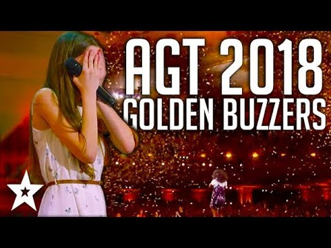 All Golden Buzzers Auditions on America's Got Talent 2018 |