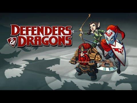 Defenders & Dragons - Universal - HD (Sneak Peek) Gameplay Trailer