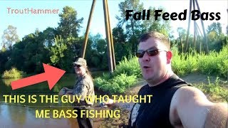 Fall Feed Bass Fishing the Willamette River with Steve Bukovics