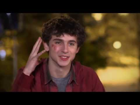 """Love The Coopers: Timothee Chalamet """"Charlie"""" Behind-the-Scenes Interview"""