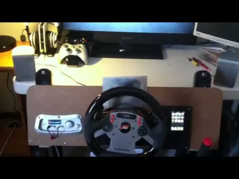 race simulator dashboard build youtube. Black Bedroom Furniture Sets. Home Design Ideas
