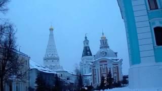 Свято-Троицкая Сергиева Лавра зимой перед вечерней службой(, 2013-12-16T19:47:58.000Z)