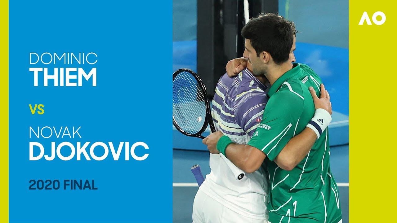 Dominic Thiem Vs Novak Djokovic Full Match Australian Open 2020 Final Youtube