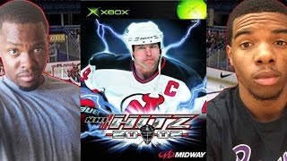 I HAD THE DEMO!! - NHL Hitz 2002 | #ThrowbackThursday ft. Juice