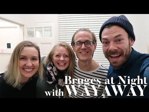 Visit Bruges at Night with The Way Away (Belgium Travel Vlog) | Eileen Aldis Travel Channel