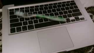 Repeat youtube video Throwing toothbrush on macbook pro