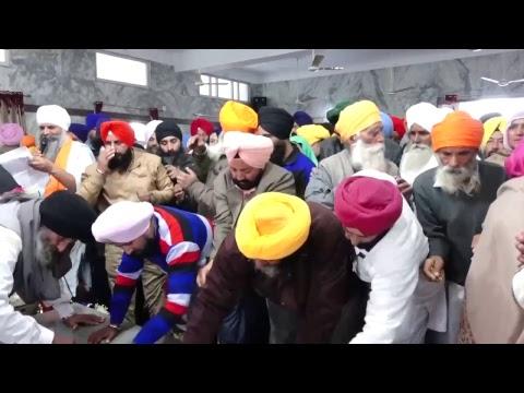 Live Bhog Baba Gurmeet singh Ji Gurdaspur 11-1-18