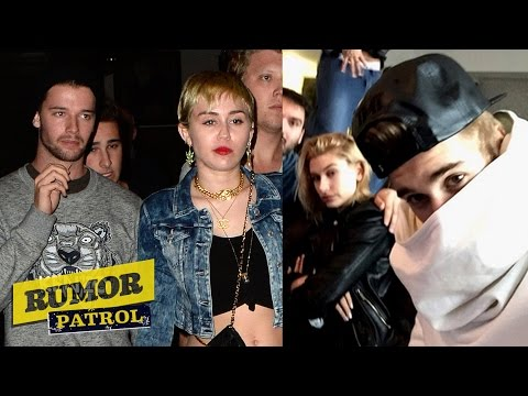 Hailey justin dating miley
