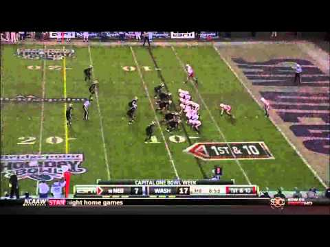 Nebraska O vs Washington D 2010 Holiday Bowl