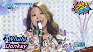 [Hidden Song] Whale - Donkey, 웨일 - 좋아하는 일을 해 Show Music core 20170610