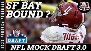NFL Mock Draft 3.0 - First Round Mock Draft Predictions - NFL Team Needs