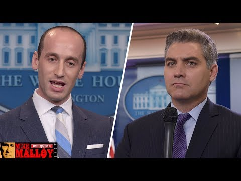 Stephen Miller Nearly Comes To Blows With Jim Acosta