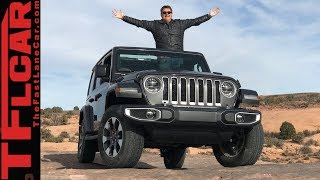 First Dirt: We Drive The 2018 Jeep Wrangler JL to Moab