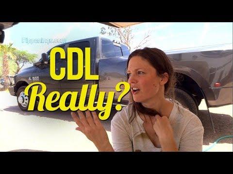 CDL, Really? // Love Birds on Board