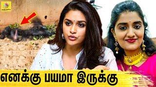 மனசே நொறுங்கி போச்சுங்க ! கொந்தளித்த நடிகை | Actress Keerthi Suresh On Priyanka Reddy, Hydrabad