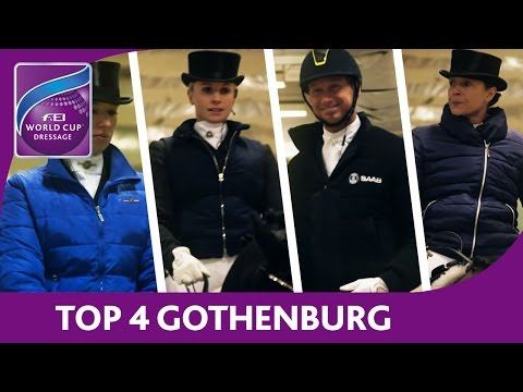 Top 4 Preview - Gothenburg - FEI World Cup™ Dressage 2016/17