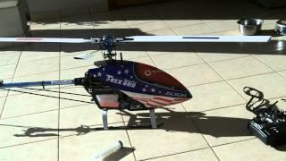 como arrancar un helicoptero RC nitro