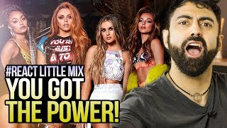 REAGINDO a Little Mix - Power (Official Video) ft. Stormzy