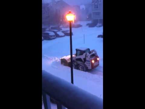 First 2016 Snow Storm in Edison NJ