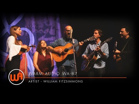 """[ Warm Audio ] William Fitzsimmons - (Cover) """"Learning to Fly"""" by Tom Petty - Ryman Theater  - WA-87 Mp3"""