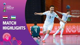 Egypt v Uzbekistan FIFA Futsal World Cup 2021 Match Highlights