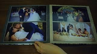Свадебная фотокнига под заказ Киев. Свадебный фото альбом.
