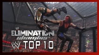WWE Top 10 - Most Destructive Elimination Chamber Moments