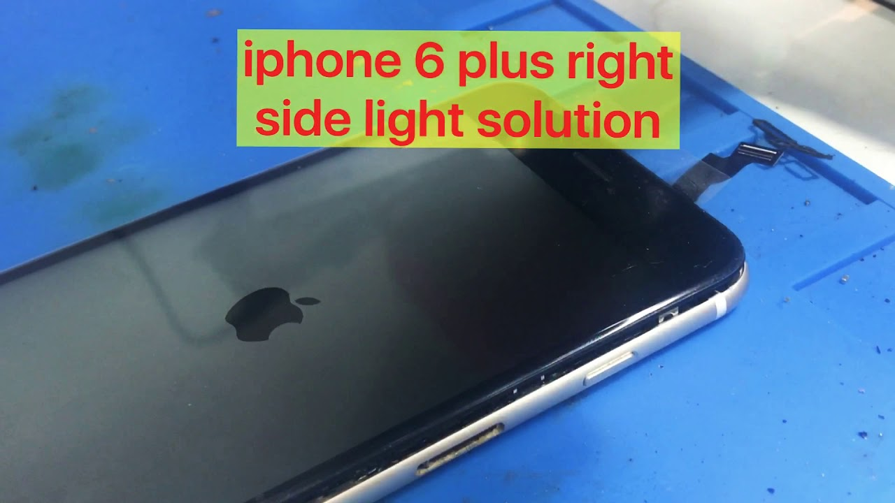 Iphone 6 Plus Right Side Light Solution