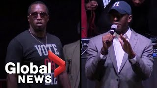 Midterm elections: Sean 'P. Diddy' Combs hold midnight rally for Andre Gillum