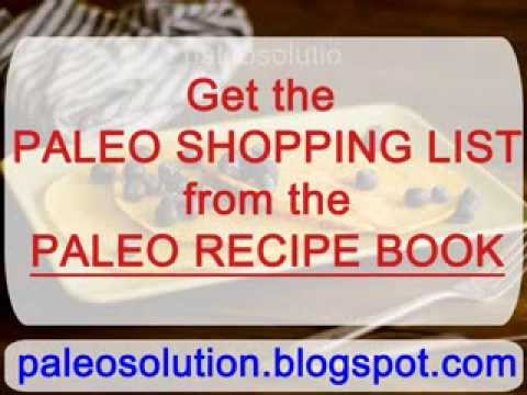 Paleo shopping list paleo recipe book youtube paleo shopping list paleo recipe book malvernweather Images