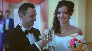 Забавная свадьба - счастливые жених и невеста! Funny Wedding Video - Mix Studio.