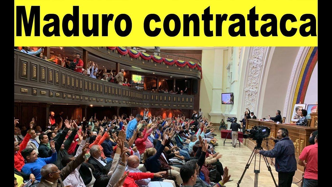 Maduro cierra aeropuertos y diputados de Guaidó huyen + Noticias Venezuela mayo 2019