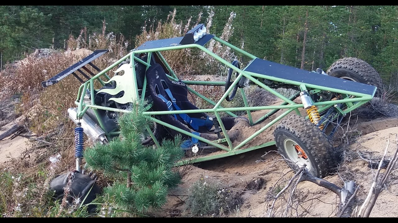 Barracuda - Crosskart - 1000cc - Buggy - Finland - sand - drift - Offroad -  DIY - Project