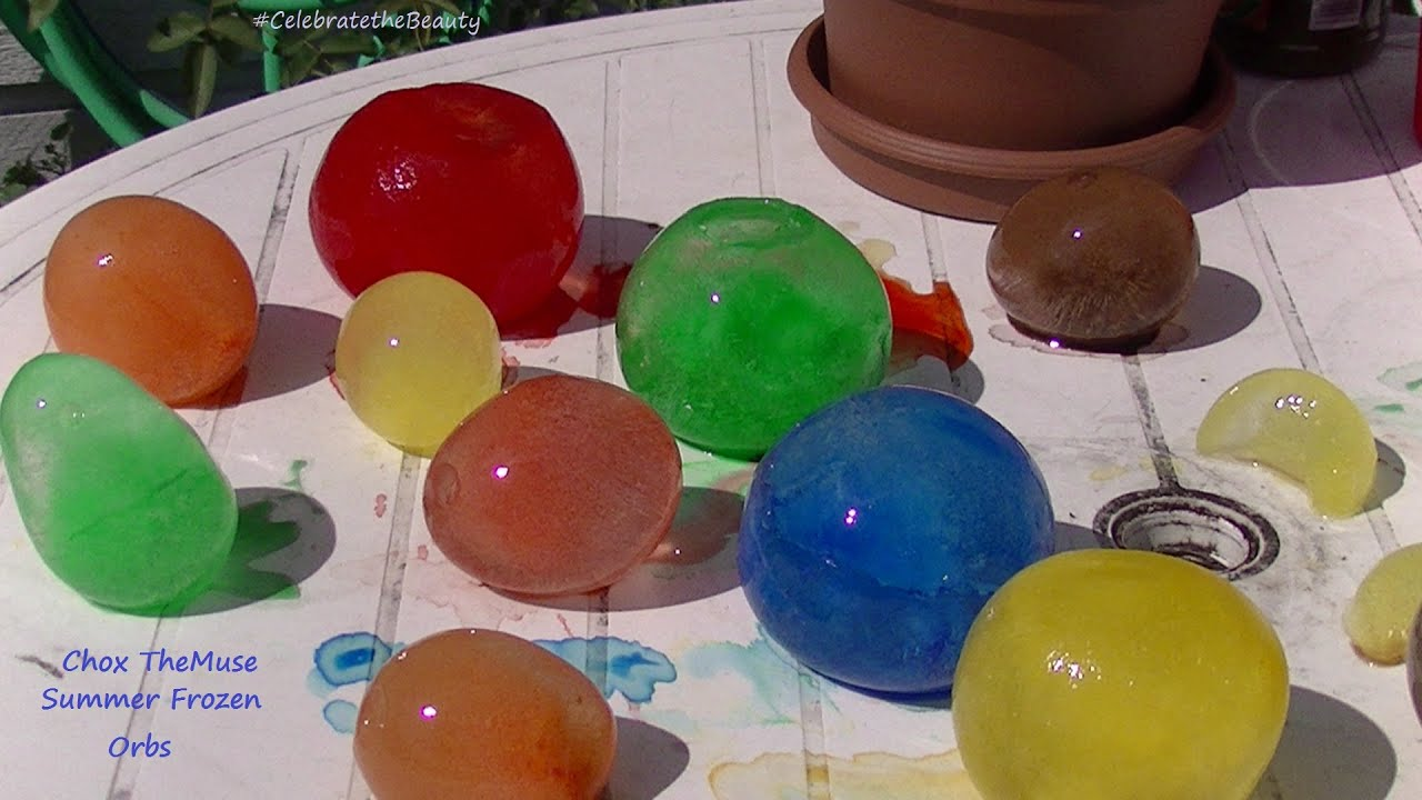 Summer Frozen Orbs Water Balloons In The FREEZER Viewer Request - They gave this tiny dog some water balloons what happens next is hilarious