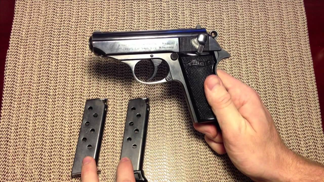 walther ppk s youtube