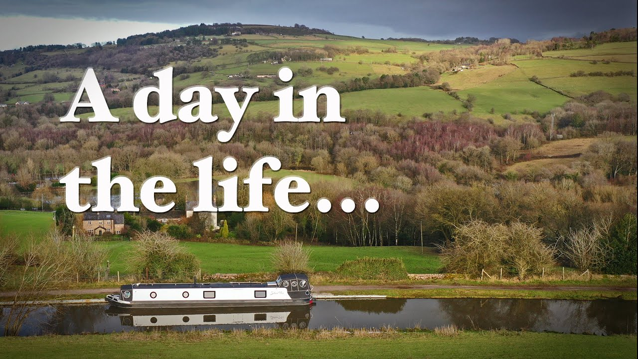 A Day in the Life Living on a Canal Narrowboat