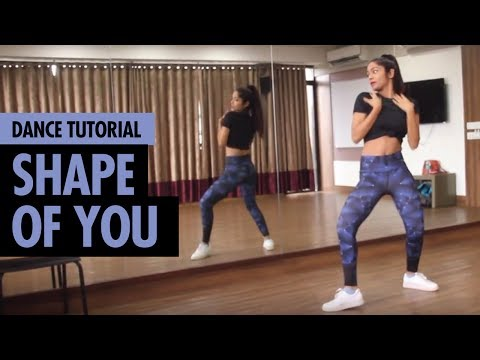 Shape of You | Ed Sheeran | Dance Tutorial | Hip Hop Dance Choreography | LiveToDance with Sonali