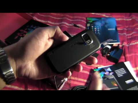 nokia 5800 unboxing (HD)
