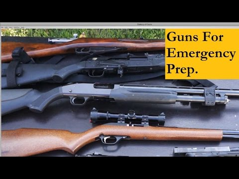 The Right Guns for Survival or Emergency Situations