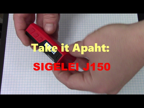 Take It Apaht: SIGELEI J150