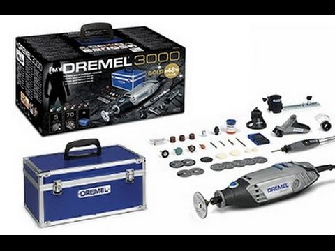 Dremel 3000 Gold Kit. Lets take a look. Part 1. Cutting Guide .