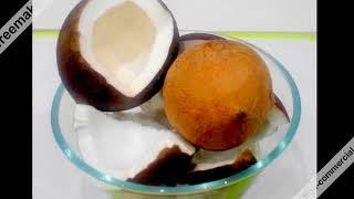 Кокосовое   масло  для питания волос  How to cook coconut oil (hair nutrition) at home